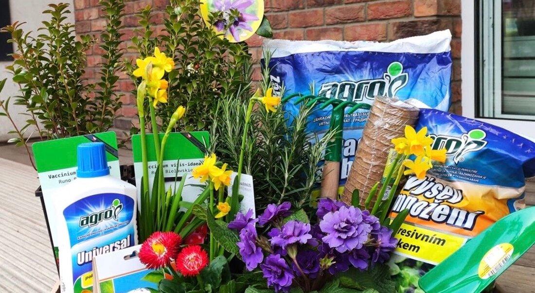 Bezpečnostné opatrenia pri nákupe v záhradnom centre